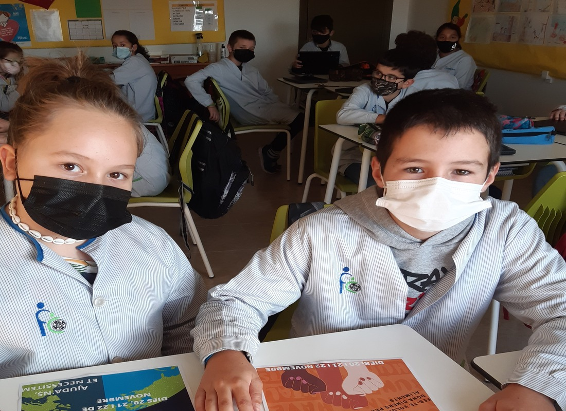 Alumnes de l'escola FEDAC Prats dinamitzen el Gran Recapte d'Aliments 2020.